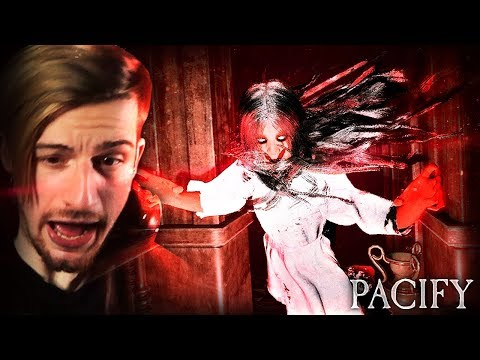 WHEN THE JUMPSCARE MAKES YOUR HEADPHONES FALL OFF. || Pacify MULTIPLAYER (ENDING)