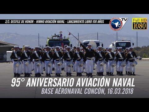 95° Aniversario Aviación Naval: Desfile de Honor, Himno A.N., Retorno Aeronaves, y más