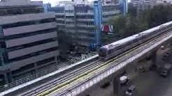 METRO TRAIN MG Road Bengaluru.3gp