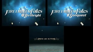 Fire Emblem Fates (Birthright/Conquest) - Opening Movie & Title Screen [3DS]