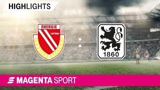 FC Energie Cottbus - 1860 München | Spieltag 25, 18/19 | MAGENTA SPORT