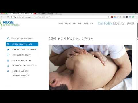 Trusted Chiropractic Care In The Davenport & Haines City Florida Area?