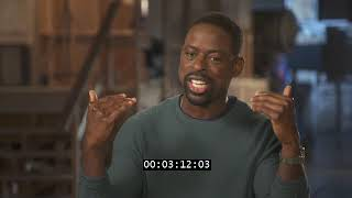 THIS IS US SEASON 3 - STERLING K BROWN INTERVIEW