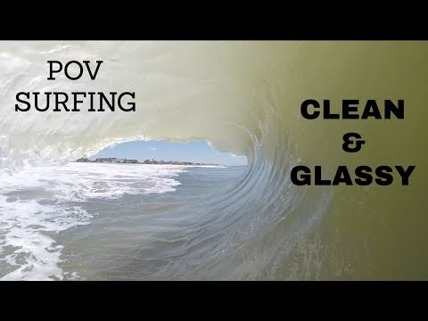 Bethany Beach Shore Break Barrels! And Surfing!