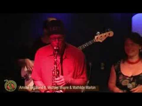 Amstel Big Band o.l.v. Sven Schuster ft. Michael Moore + Mathilde Marlon - S Funk