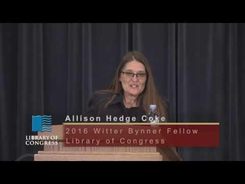 Witter Bynner Fellowship Reading: Allison Hedge Coke