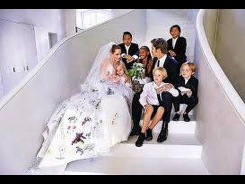 Exclusive Wedding Video of Angelina Jolie and Brad Pitt