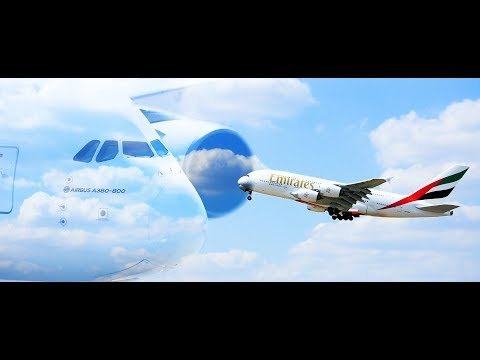 Up Close And Personal With The Beast! Emirates Airbus A380-800 Departure From Dusseldorf Airport
