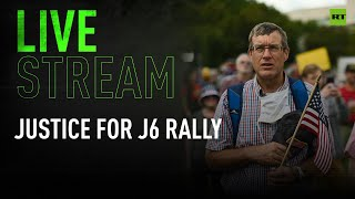 Justice for J6 rally kicks off in Washington DC