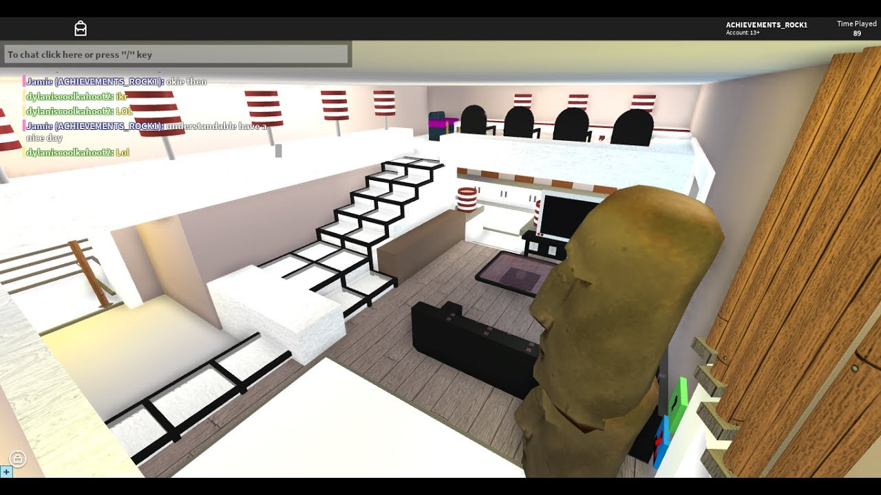 Roblox Room: Roblox High School: House Tutorial #4 (Living Room)