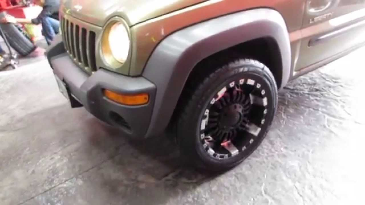 Jeep Liberty Tire Size 2003 Fuse Box Diagram Image Details Hillyard Custom Rim 2004 Libert With 18 Inch Off Road Rims
