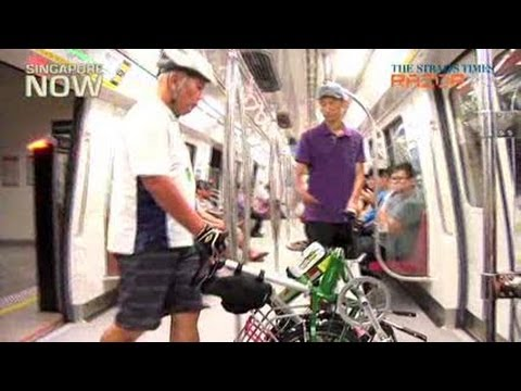 Cyclists Want Bikes Allowed On Trains During Peak Hours