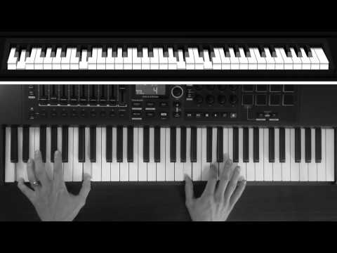 Piano Tutorial - You Make Me Brave by Bethel Music (Key of D)