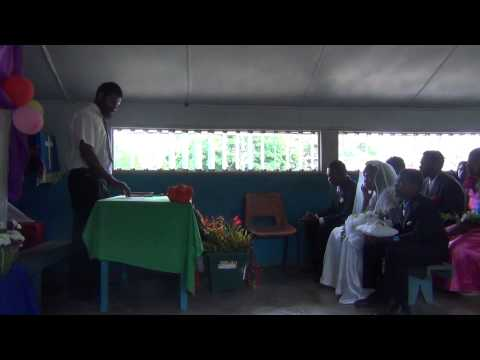 The Wedding at Lambubu Station, West Malekula, Vanuatu