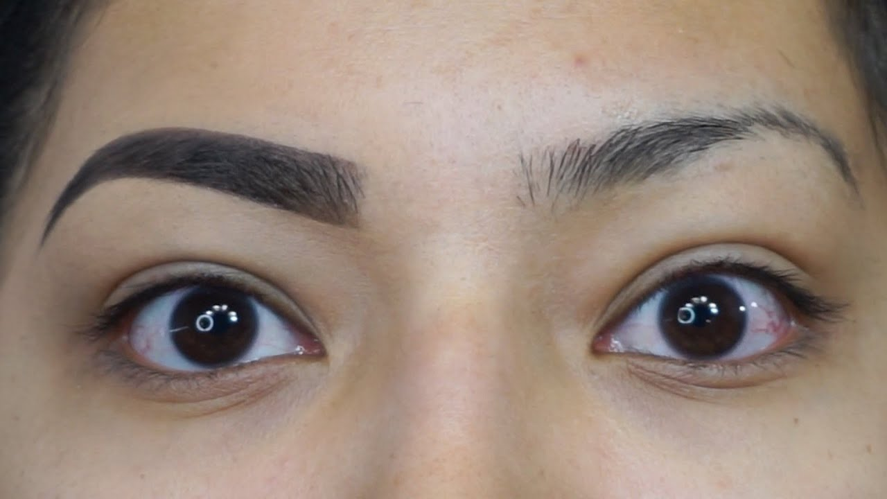 Eyebrow Tutorial Using New Lagirlcosmetics Dark Defined Brow Kit
