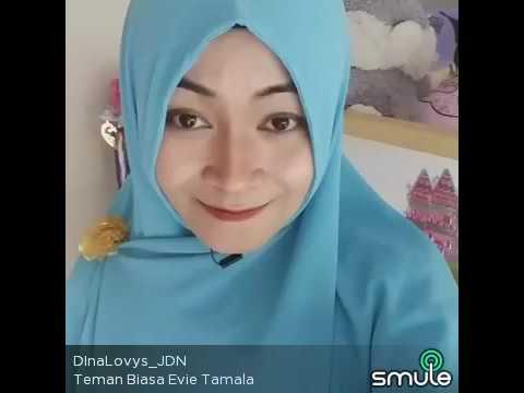 Evie Tamala TEMAN BIASA Cover DINA  LOVYS