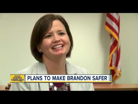Hillsborough County moving forward on its plans to make areas of Brandon safer for pedestrians