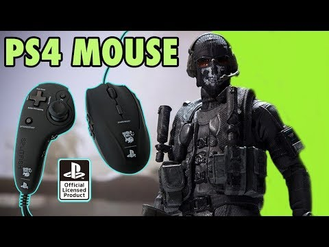 PS4 MOUSE Controller SplitFish - Call Of Duty Domination