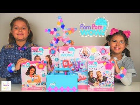 POM POM WOW ❗ παιχνίδια βίντεο διασκέδαση για παιδιά ελληνικά greek studio review