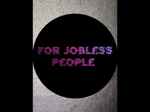 start your job if you are jobless(for jobless people).