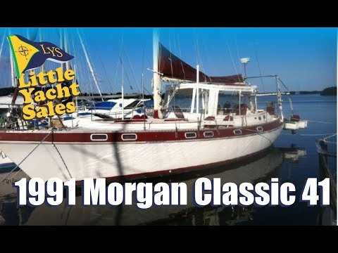 1991 Morgan Classic 41 Sailboat for sale at Little Yacht Sales, Kemah Texas