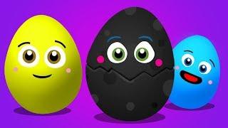 Huevo Sorpresa de Colores | Aprende Los Colores para Niños | Pandilla de Colores | BabyFirst