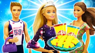 Игры для девочек - У куклы Барби День Рождения! Что приготовили подруги? – .