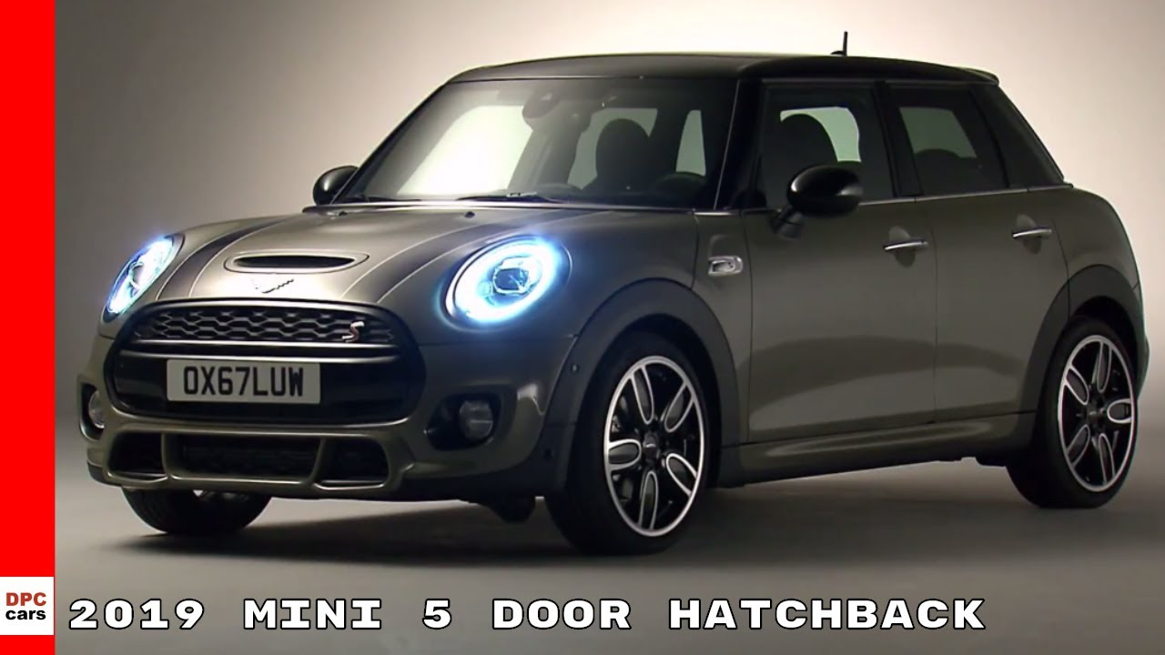 2019 Mini 5 Door Hatchback Walkaround Interior Drive