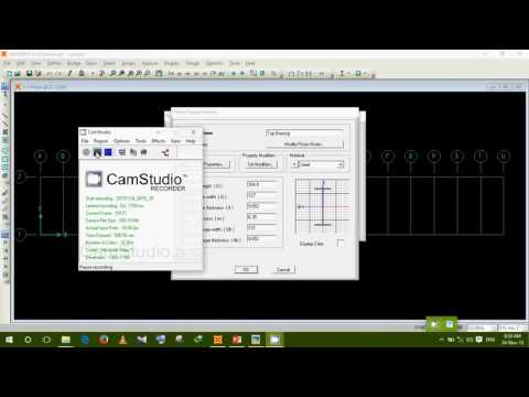 How to design a steel truss bridge model in SAP2000 Lecture 1 by Aziz vaia BUET'09