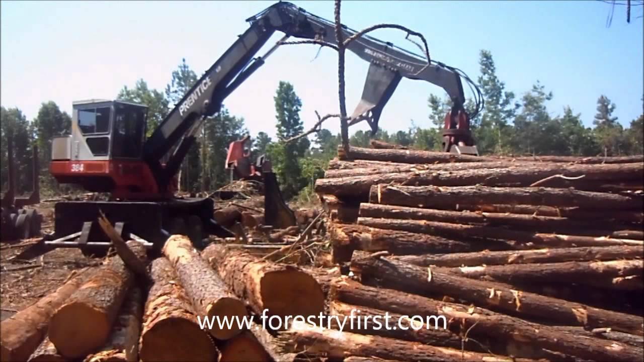 2003 Prentice 384 TMS Loader for Sale at www forestryfirst com wmv