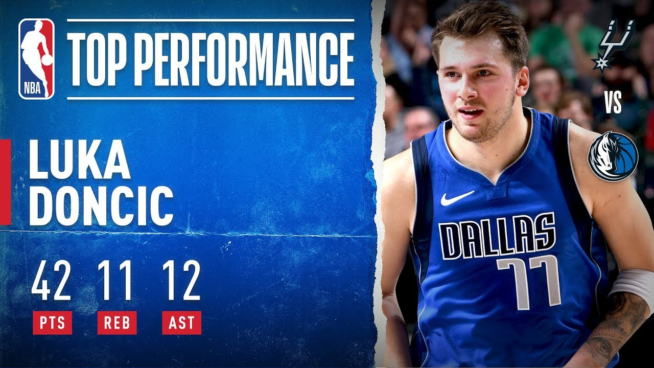Luka Doncic's triple-double makes NBA history in Mavs' win over ...