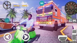 Indian Truck Lorry Driver - Real Cargo Transporter - Android Gameplay