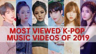 [TOP 100] MOST VIEWED K-POP MUSIC VIDEOS OF 2019