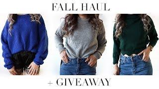 SheInside Fall/Winter Fashion Try-On Haul + $100 GIVEAWAY!
