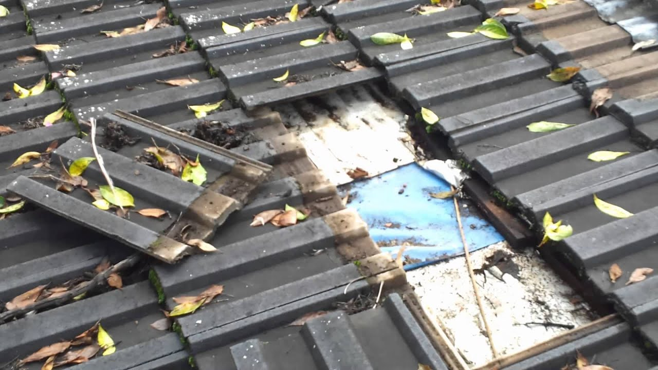 Roof Repairs Sydney On Leaking Flat Concrete Tile Roof