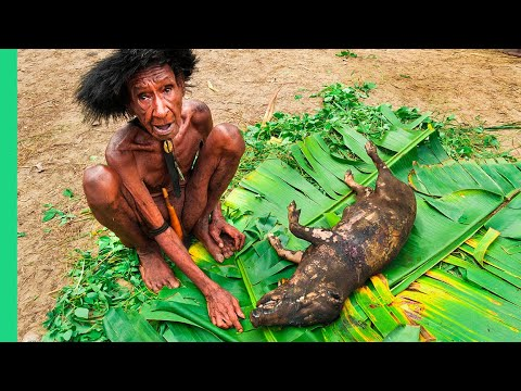 RARE TRIBAL FOOD of West Papua's Dani People!!! (Never Seen