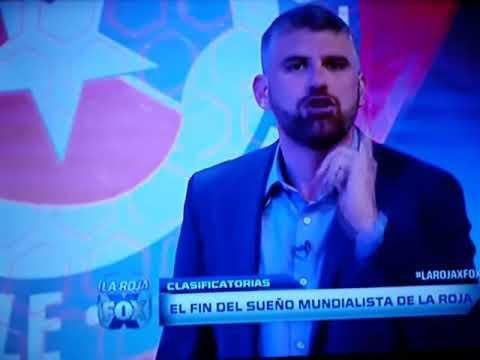 Periodista de FOX SPORT CHILE EXPLOTA CONTRA SU SELECCION
