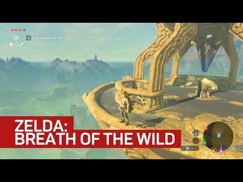 First look: The Legend of Zelda: Breath of the Wild on Switch
