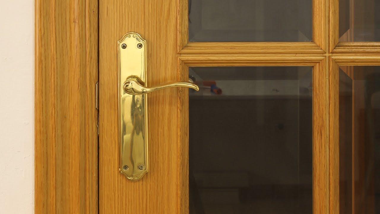 C mo pintar puertas de madera en blanco sin lijar youtube Precio puertas de paso