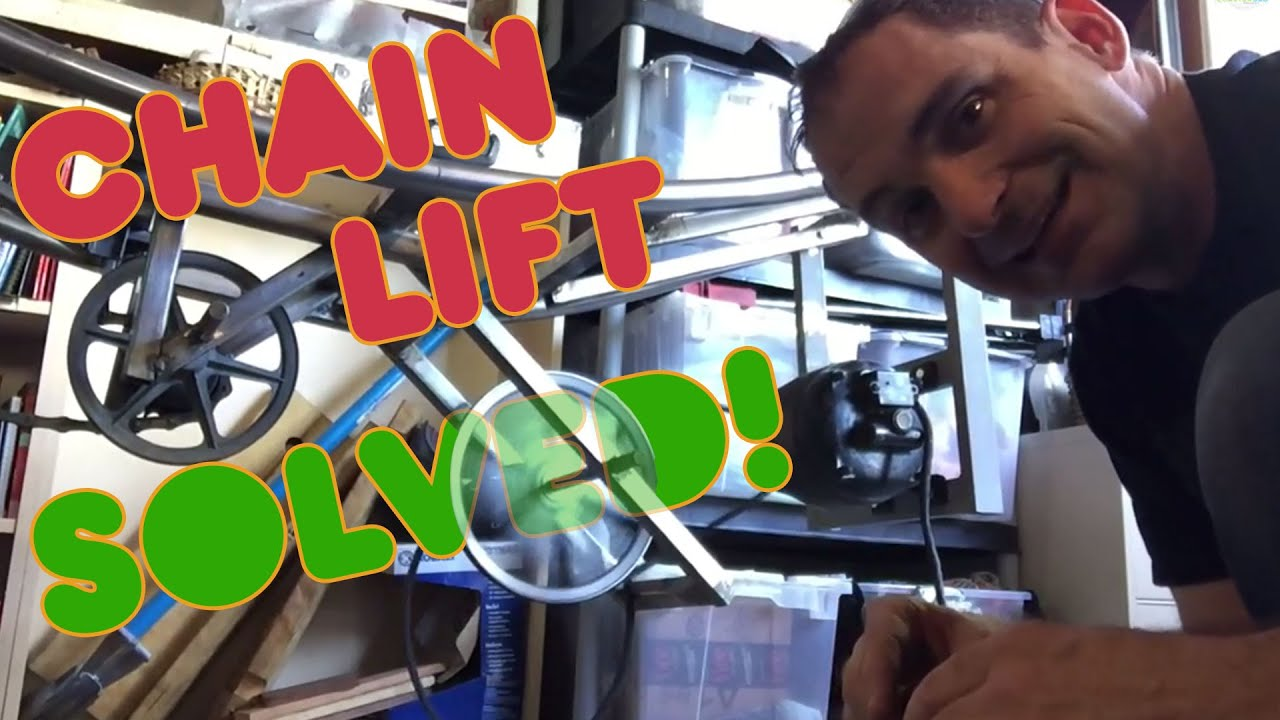 Chain Lift System Solved! - YouTube