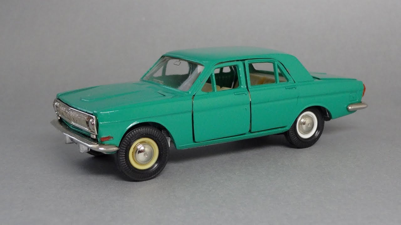GAZ 24 Volga 1967 by 3D model store Humster3D.com - YouTube