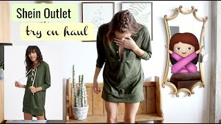 Shein (outlet) CLOTHING TRY ON HAUL || Cheap or Chic