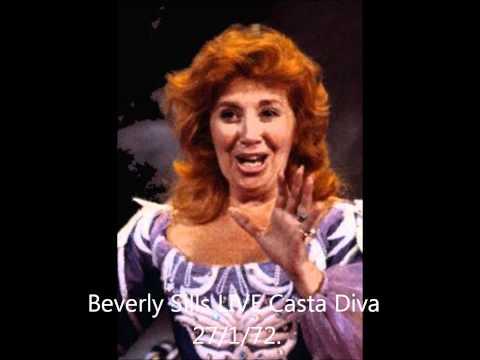 Beverly Sills LIVE Norma Casta Diva 1972
