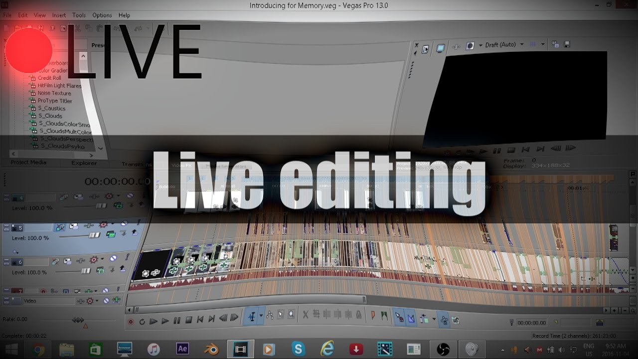 live website editing service
