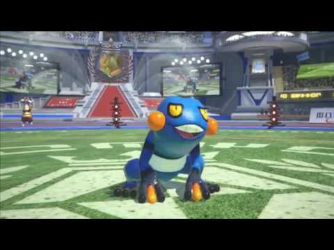 Pokken Tournament - Croagunk trailer