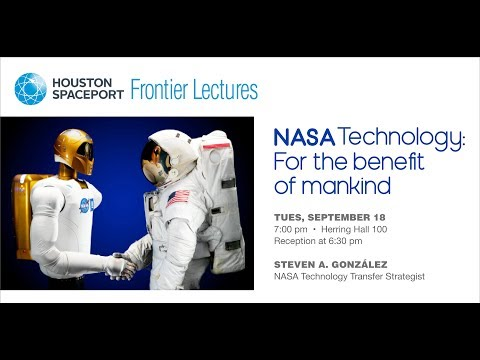 """RSI Spaceport Lecture: """"NASA Technology: For the Benefit of Mankind"""" - Steven González"""