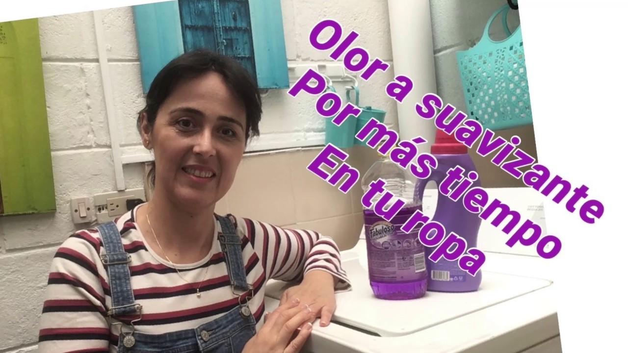 Olor A Suavizante Por Mas Tiempo Cómo Lo Hago Cómo Lavo Vídeo 2 Limpia Conmigo Youtube