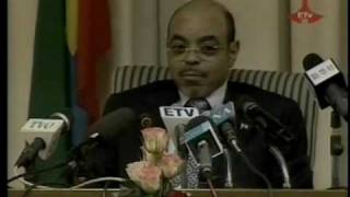 PM Meles Zenawi on his Openent Aregash Adane and the election - part 5 of 9