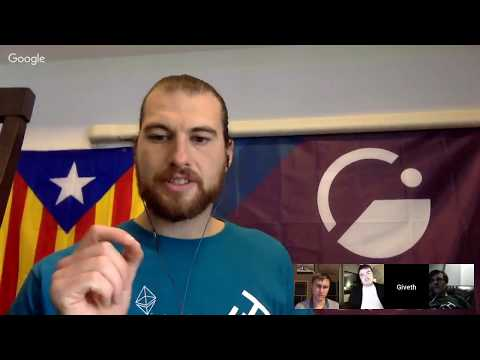 ScalingNOW! #2: Igor & Roman of POA Network explain to Giveth how they Bridge to Ethereum