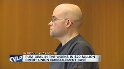 Plea deal in credit union embezzlement case